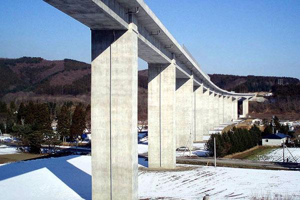 茂辺地高架橋 | 北海道土木技術...